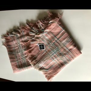 Pinkish Multi-color pastel scarf NWT